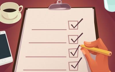 目標の行動リストに従って前進しよう