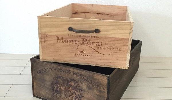 ワイン木箱をちょっぴり工夫で、素敵に魅せるリメイク術!