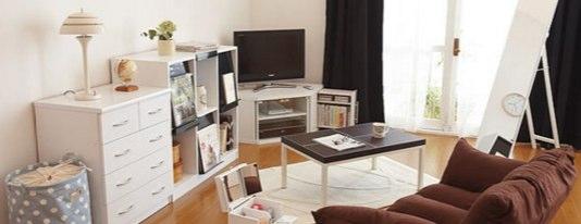 白基調の家具