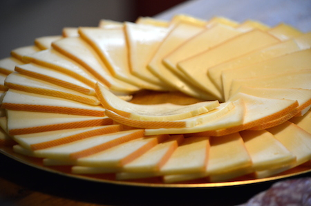 raclette sliced cheese