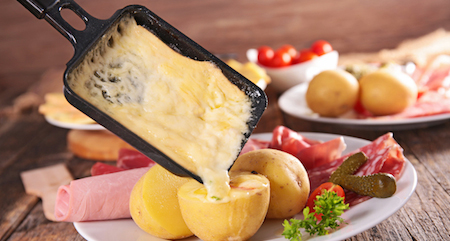 warm raclette up