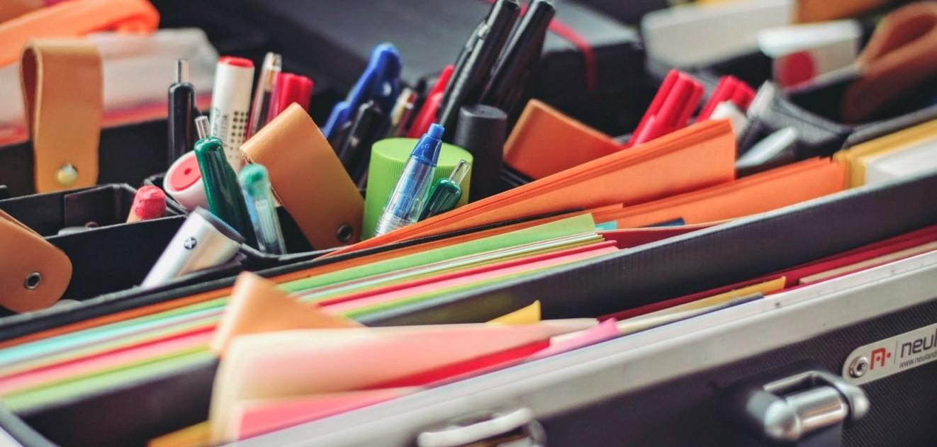 会社で使う文房具を新しくしてみよう