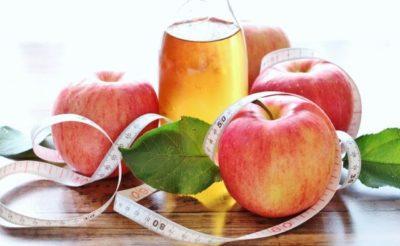 リンゴ酢リンスのやり方